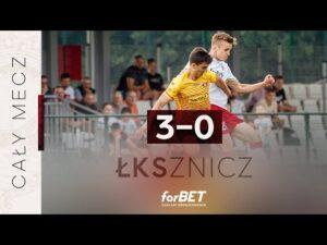 Read more about the article ŁKS Łódź – Znicz Pruszków 3:0 | CAŁY MECZ