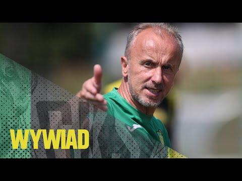 Read more about the article [GKS TV] Trener Jacek Trzeciak po meczu z GKS-em Tychy