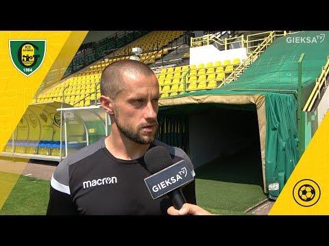 Read more about the article Rafał Figiel po meczu GKS Katowice – LKS Goczałkowice-Zdrój 3:0 (24 07 2021)
