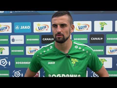 Read more about the article Bartosz Śpiączka po meczu z Cracovią