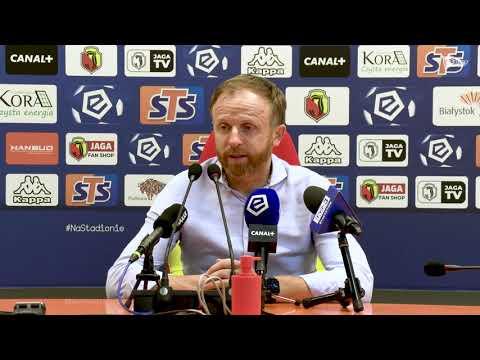 Read more about the article Piotr Stokowiec po meczu z Jagiellonią Białystok