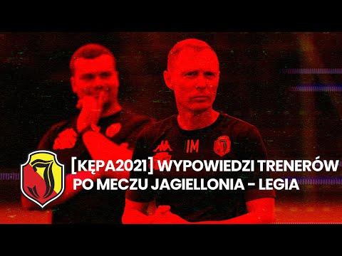 You are currently viewing [KĘPA 2021] Wypowiedzi trenerów po meczu Jagiellonia – Legia