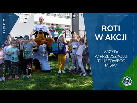 """Read more about the article Roti w akcji   Wizyta w Przedszkolu """"Pluszowego Misia"""""""