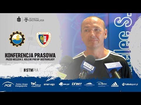 Read more about the article TV Stal: Konferencja prasowa przed meczem 2. kolejki PKO BP Ekstraklasy