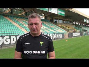 Read more about the article Trener Kamil Kiereś przed meczem z Zagłębiem Lubin   PKO BP Ekstraklasa