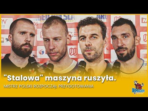 """Read more about the article """"Stalowa"""" maszyna ruszyła. Mistrz Polski rozpoczął przygotowania"""