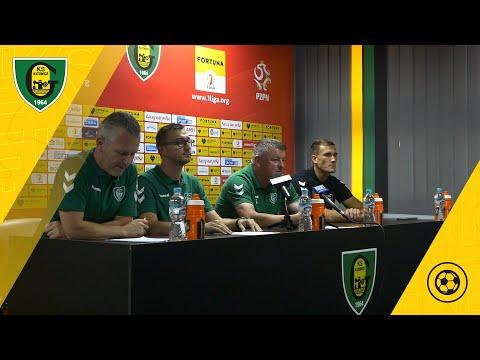 Read more about the article Konferencja prasowa przed rozpoczęciem sezonu 2021/22 Fortuna 1 Ligi