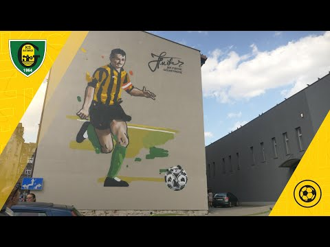 Read more about the article Uroczyste odsłonięcie muralu z Janem Furtokiem