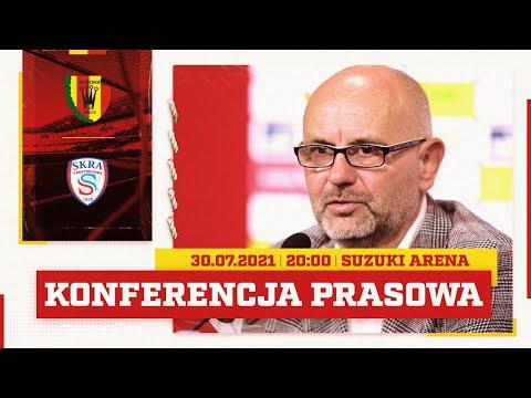 Read more about the article Konferencja prasowa po meczu Korona Kielce – Skra Częstochowa