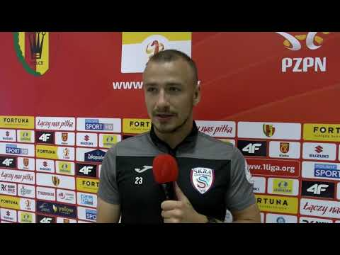 Read more about the article Dawid Niedbała po pierwszym meczu w Fortuna 1 Liga