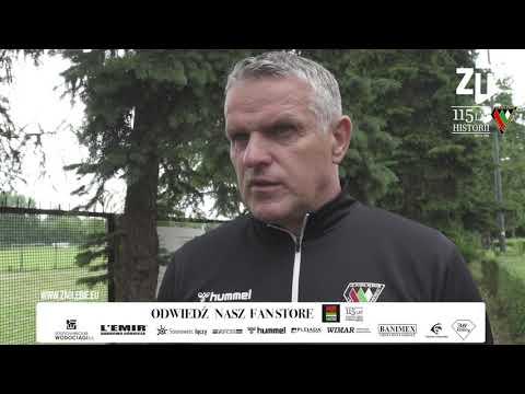 You are currently viewing Trener Kazimierz Moskal ocenia sparing z Koroną Kielce