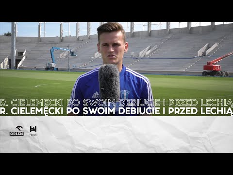Read more about the article Radosław Cielemęcki po swoim debiucie i przed Lechią