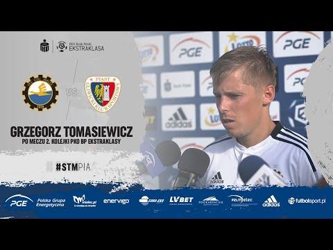 Read more about the article TV Stal: Grzegorz Tomasiewicz po meczu 2. kolejki PKO BP Ekstraklasy