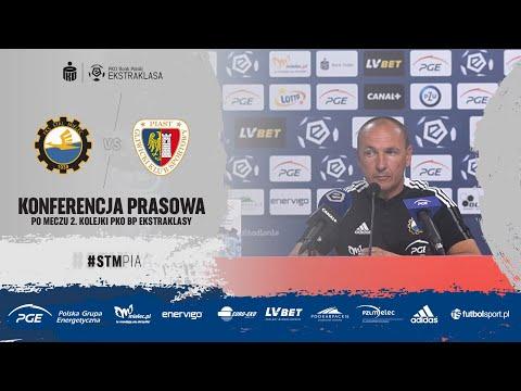 Read more about the article TV Stal: Konferencja prasowa po meczu 2. kolejki PKO BP Ekstraklasy