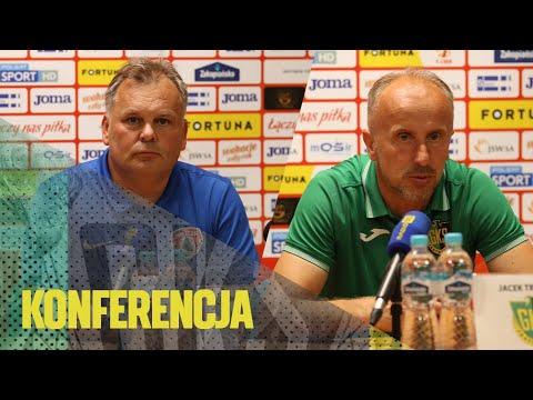Read more about the article [GKS TV] Konferencja prasowa po meczu GKS – Puszcza