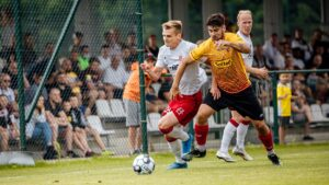 Read more about the article Ostatni sparing. ŁKS – Znicz Pruszków 3:0