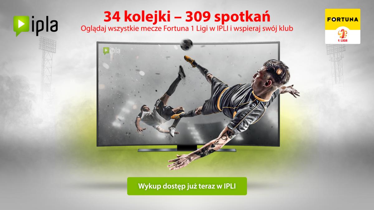Read more about the article IPLA pokaże wszystkie mecze Fortuna 1 Ligi. Oglądaj i wspieraj ŁKS