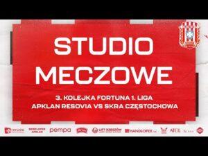 Read more about the article STUDIO MECZOWE 🎥⚪🔴 Apklan Resovia – Skra Częstochowa