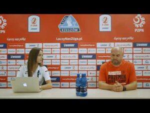 Read more about the article Konferencja po meczu Stal Rzeszów – MKS Bytovia Bytów