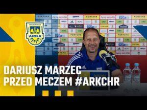 Read more about the article DARIUSZ MARZEC PRZED MECZEM #ARKCHR