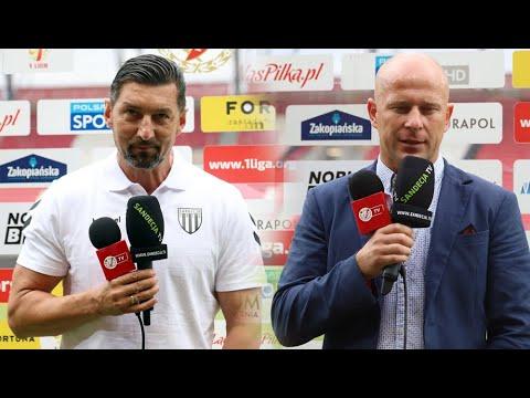 Read more about the article 2021-08-01 Widzew Łódź – Sandecja 3-0 (2-0), konferencja prasowa