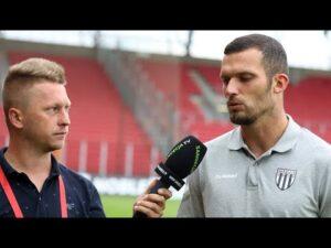 Read more about the article 2021-08-01 Widzew Łódź – Sandecja 3-0 (2-0), Tomasz Boczek