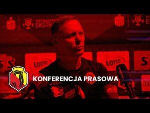 Read more about the article [LIVE] Konferencja prasowa po meczu z Bruk-Bet Termalicą Nieciecza (1:0)
