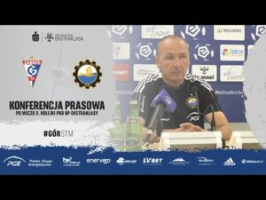 Read more about the article TV Stal: Konferencja prasowa po meczu 3. kolejki PKO BP Ekstraklasy