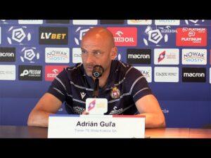 Read more about the article Trener Adrian Gula przed meczem ze Stalą Mielec – konferencja prasowa
