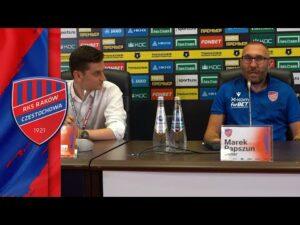 Read more about the article Konferencja prasowa po meczu Rubin Kazań – Raków Częstochowa 0:1