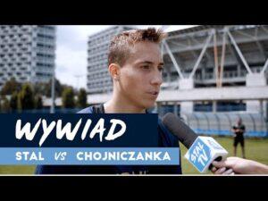Read more about the article Rozmowa z Dominikiem Marczukiem przed meczem z Chojniczanką Chojnice