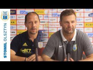 Read more about the article Dariusz Marzec oraz Adrian Stawski po meczu Stomil Olsztyn – Arka Gdynia 0:1 (14.08.2021 r.)