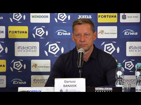Read more about the article Konferencja prasowa po meczu Radomiak Radom – Legia Warszawa 3:1 [RADOMIAK.TV]