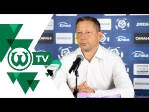 Read more about the article Dariusz Banasik po meczu Radomiak Radom – Warta Poznań