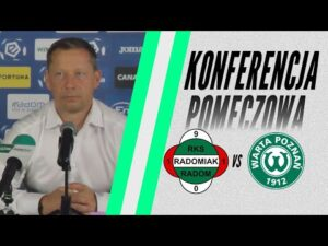 Read more about the article Konferencja prasowa po meczu Radomiak Radom – Warta Poznań 1:0 [RADOMIAK.TV]