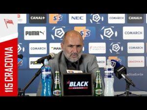Read more about the article Trener Michał Probierz po meczu z Jagiellonią Białystok (21.08.2021)