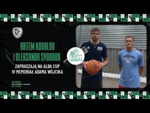 Read more about the article Artem Kovalov i Oleksandr Sydoruk zapraszają na ALBA Cup IV Memoriał Adama Wójcika