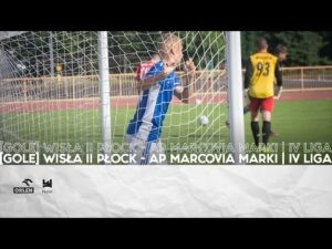 Read more about the article [GOLE] WISŁA II PŁOCK – AP MARCOVIA MARKI | IV LIGA