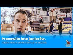 Read more about the article Pracowite lato juniorów. Ciężka praca zaprocentuje w sezonie.