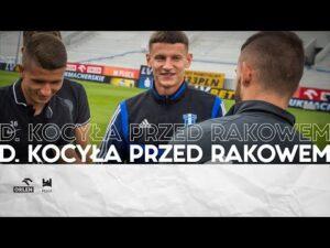 Read more about the article Dawid Kocyła przed meczem z Rakowem Częstochowa