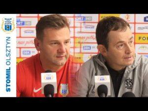 Read more about the article Konferencja po meczu Stomil Olsztyn – ŁKS Łódź 0:3 (27.08.2021 r.)