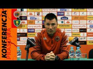 Read more about the article Konferencja prasowa po meczu Chrobry Głogów – GKS Katowice