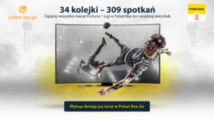 Read more about the article Rusza Polsat Box Go – zmiany w dostępie do transmisji spotkań Fortuna 1 Ligi
