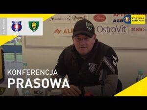 Read more about the article Konferencja prasowa po meczu Olimpia Zambrów – GKS Katowice 0:1 (29.09.2021)