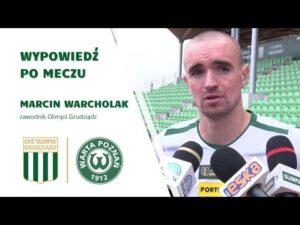 Read more about the article Wypowiedź Marcina Warcholaka po meczu z Wartą Poznań.