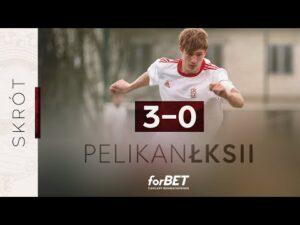 Read more about the article Pelikan Łowicz – ŁKS II Łódź 3:0 | SKRÓT MECZU