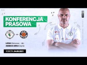 Read more about the article Konferencja prasowa po meczu Legia Warszawa – Asseco Arka Gdynia | Legia Warszawa Koszykówka