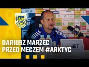 Read more about the article DARIUSZ MARZEC PRZED MECZEM #ARKTYC