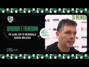 Read more about the article Wywiady z trenerami po ALBA Cup IV Memoriale Adama Wójcika