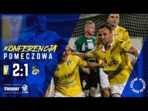 Read more about the article KONFERENCJA: Olimpia Elbląg 3:1 GKS Bełchatów   8.kolejka   Sezon 2021/22